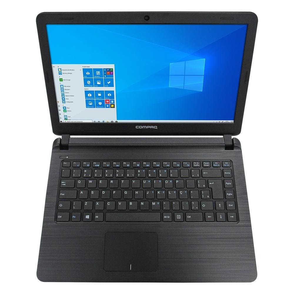 Notebook Compaq Presario CQ31 - Tela 14`` HD, Intel® Celeron 4GB, HD 500GB, Windows 10 - PC802