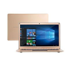 Notebook Multilaser Legacy Air Intel Celeron 4GB capac. de até 152GB (32GB+120SSD) 13.3 Pol Full HD Win 10 Dourado - PC241