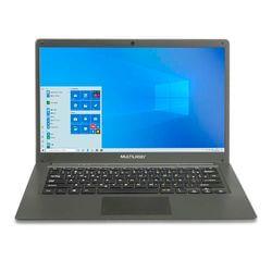 Notebook Multilaser Legacy Cloud Intel Quadcore 2GB 32GB Windows 10 Home 14,1 Pol. HD Cinza - PC130