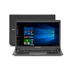 Notebook Multilaser Legacy Cloud AMD A4 2GB 32GB Windows 10 Home 14,1 Pol. HD Preto - PC150