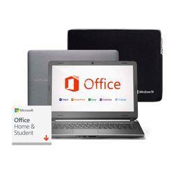 Notebook Multilaser Urban Intel Core i3 4GB 120GB SSD 14 Pol. Windows 10 + Case Microsoft + Office 2019 Perpétuo - PC405
