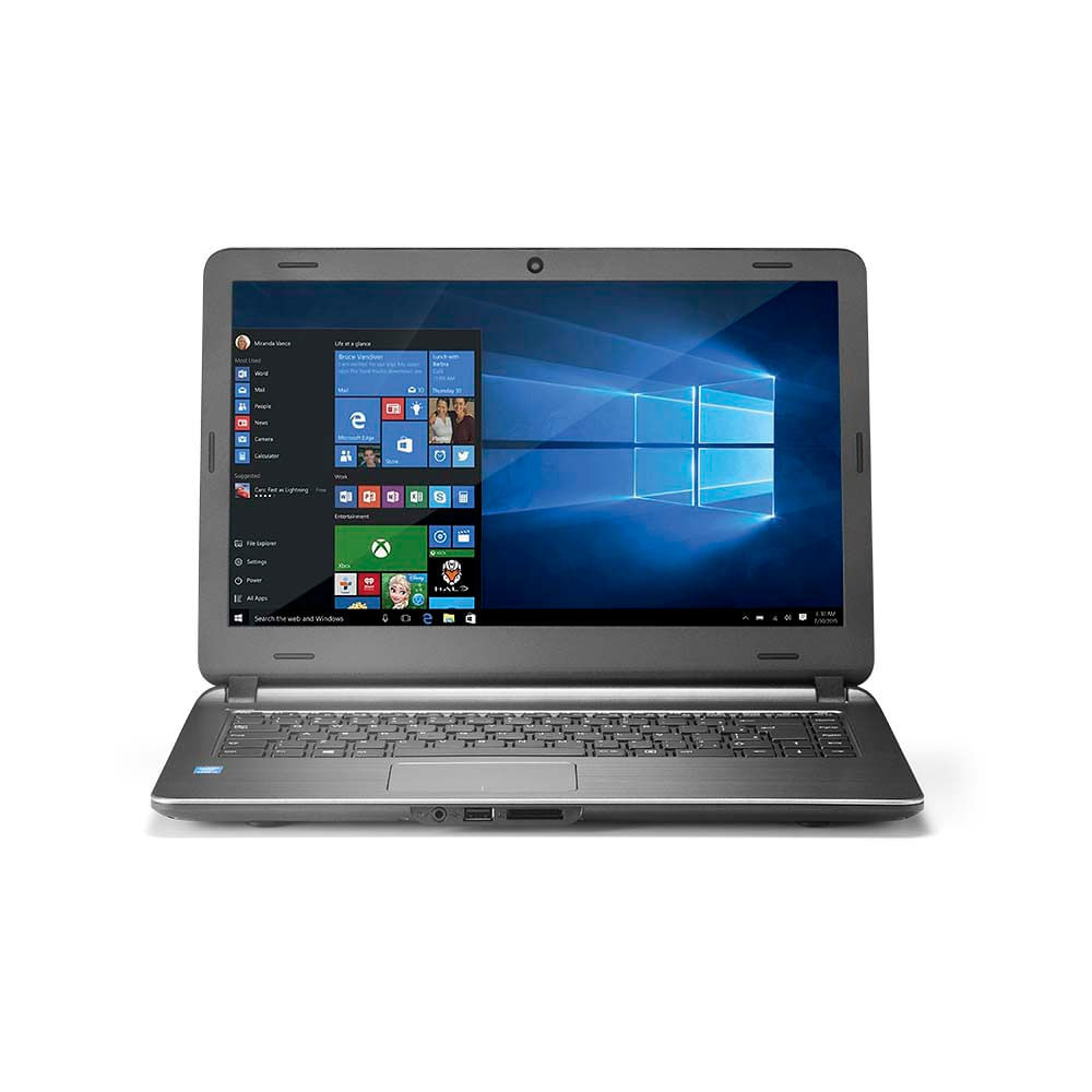 "Notebook Multilaser Urban Intel Core i3 4GB 120GB SSD 14"" Windows 10 + Case Microsoft - PC403"