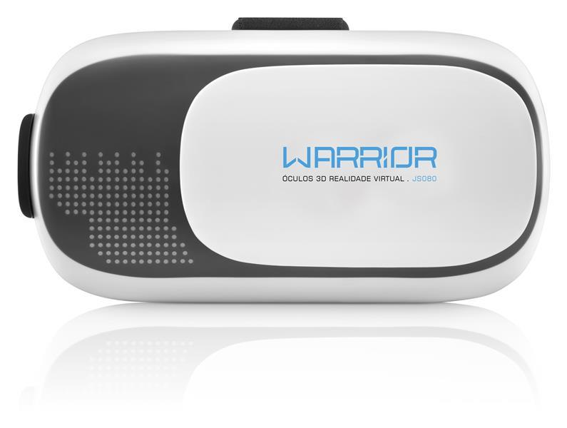 Oculos Realidade Virtual 3D Gamer Warrior - JS080