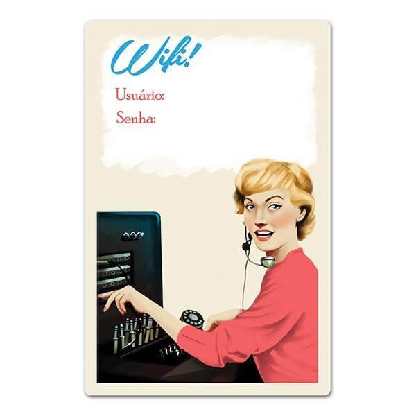 Placa WiFi Retrô