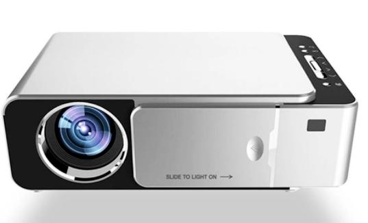 Projetor LCD 1280 x 720P HD 3500 Lumens LED Projetor Multimídia Home Theater USB HDMI Media Player - Flexinter