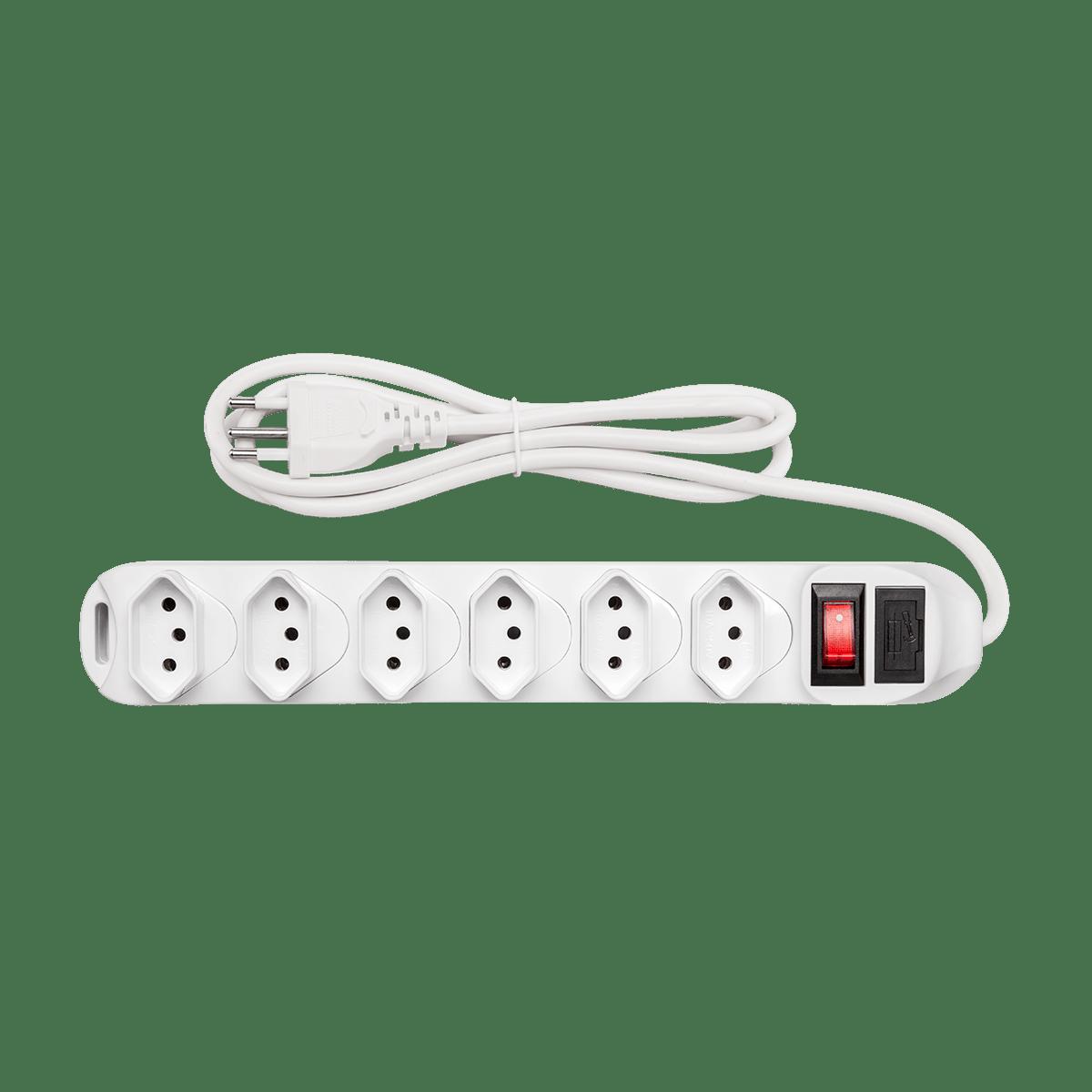 Protetor Eletrônico Intelbras com 6 tomadas EPE 1006