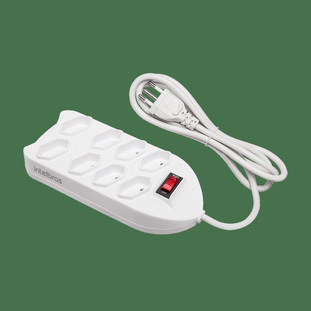 Protetor Eletrônico Intelbras com 8 tomadas EPE 1008+ BR