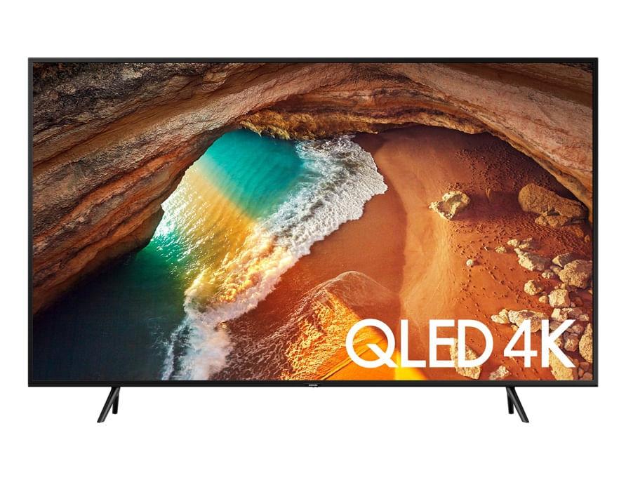 QLED TV UHD 4K 2019 Q60, Pontos Quânticos, HDR500, Modo Ambiente, Sem efeito Burn-in