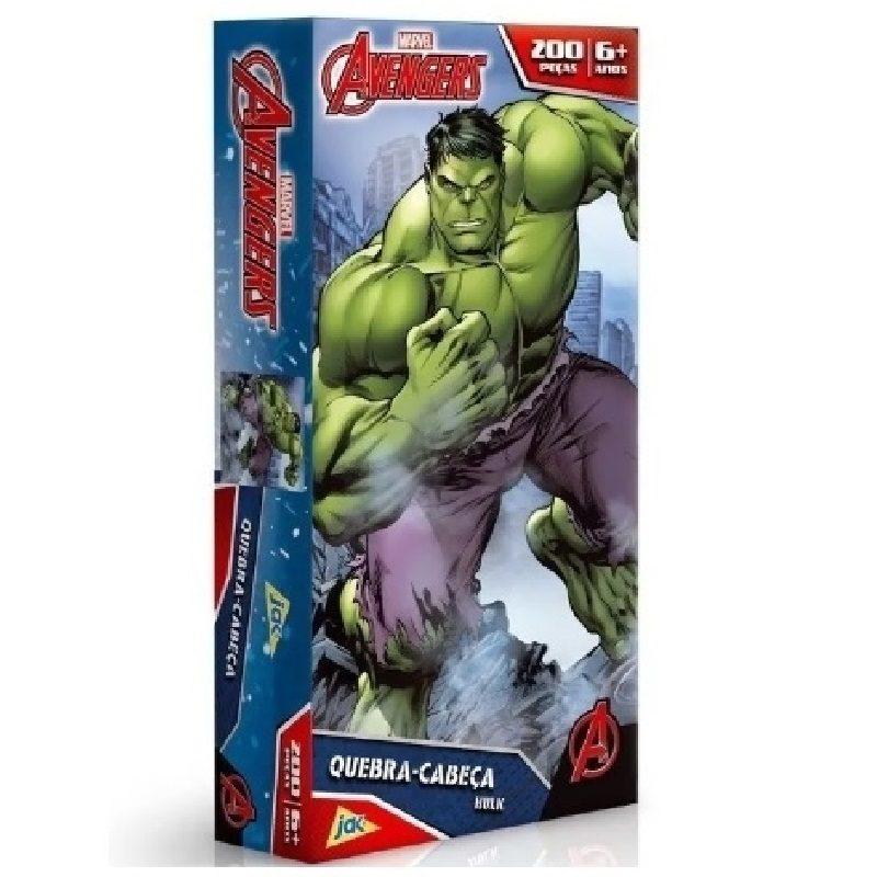 Quebra - Cabeça 200 Peças - Hulk- Toyster