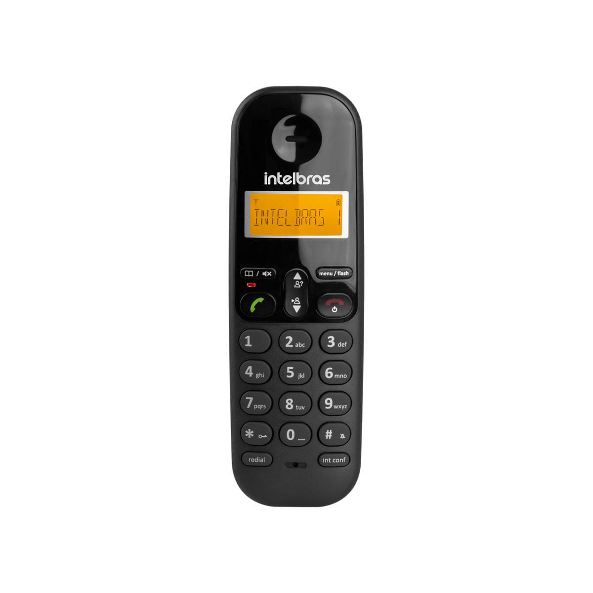 Ramal sem Fio Digital Intelbras TS 3111 Preto