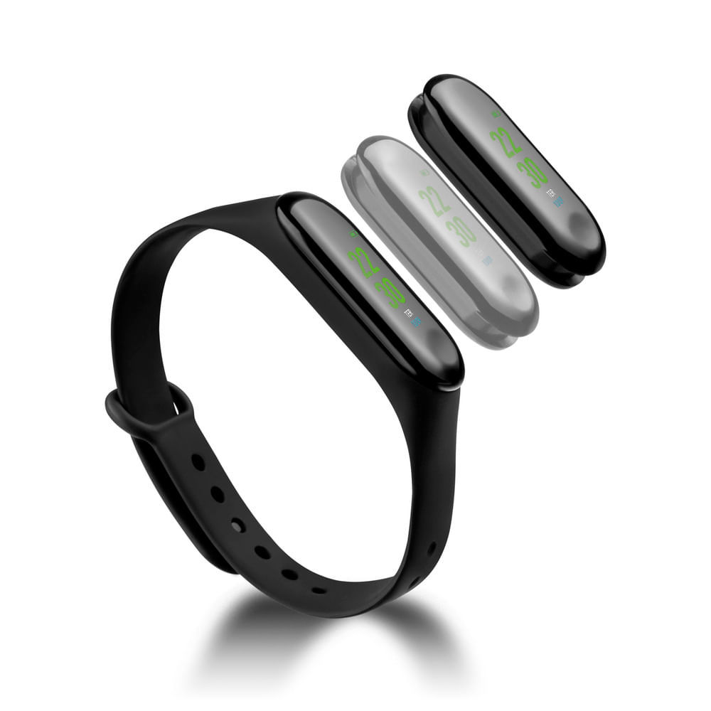 Relógio Smart Band Tóquio Atrio Android/IOS Preto - ES264