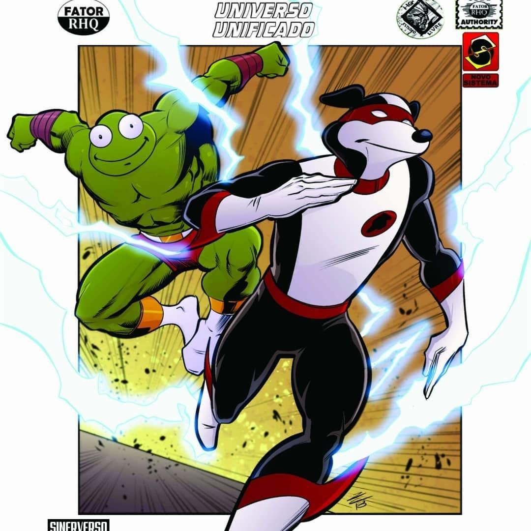 Revista em quadrinhos autoral Origens dos Super-Heróis