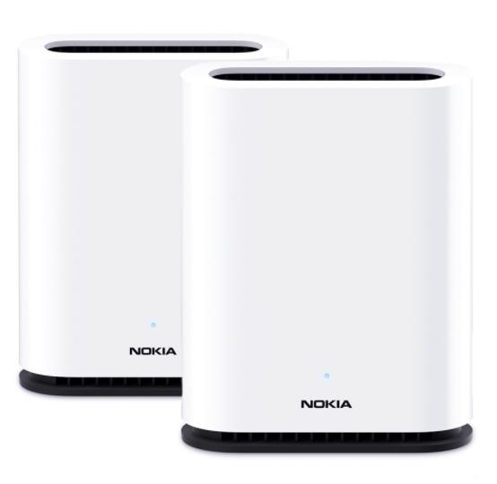 Roteador Wi-Fi Mesh Nokia Beacon 1 com 2 unidades