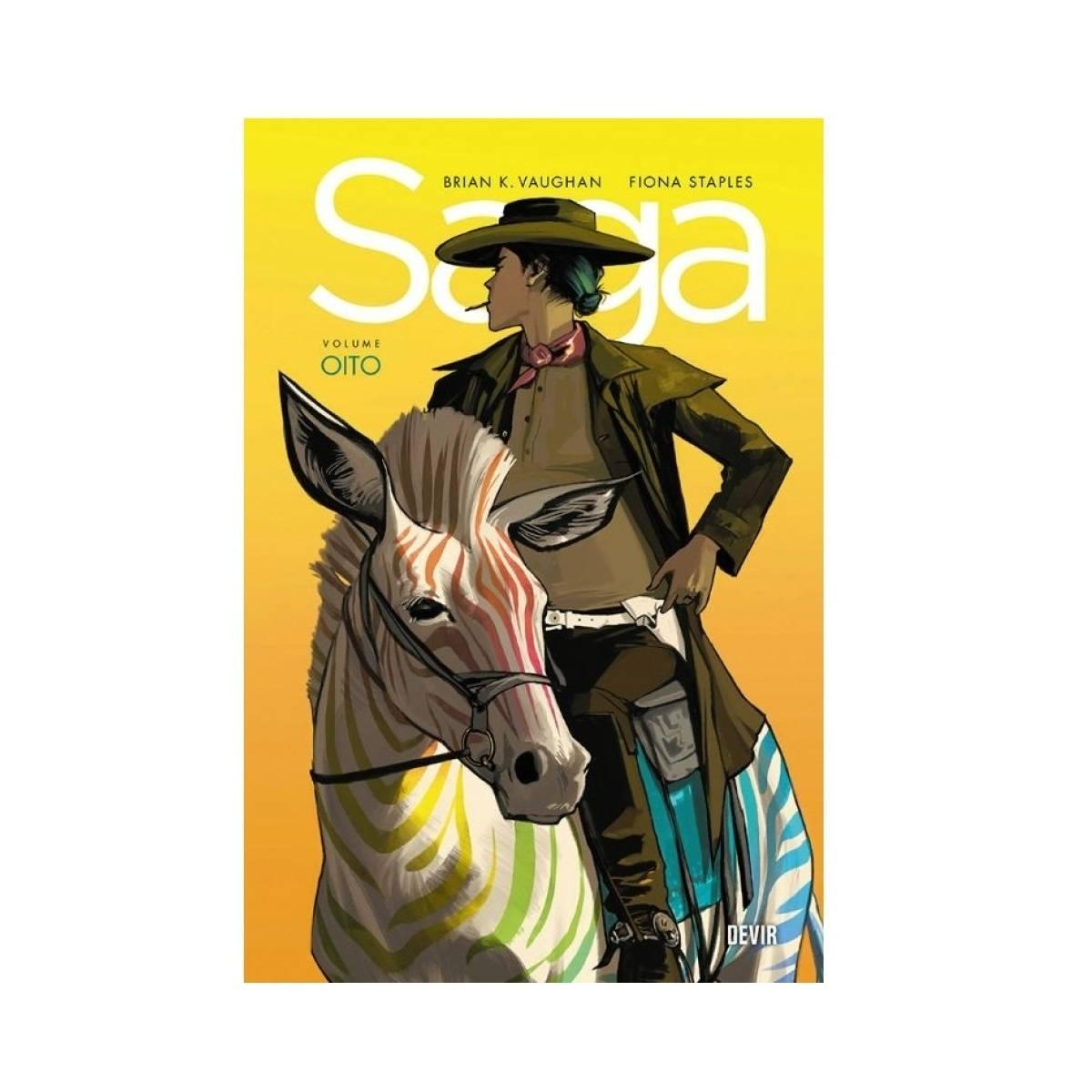 Saga Vol 8 - HQ - Devir