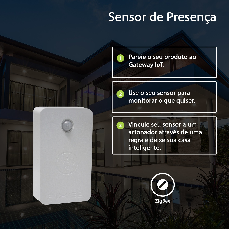 Sensor de Presença - Pixel TI - C003SPRS