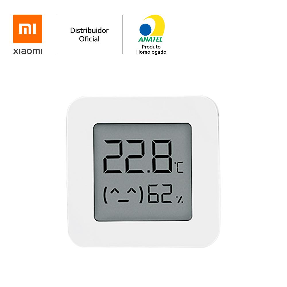 """Sensor de Temperatura e Umidade 2 Xiaomi, C/ Display 1,5"""""""