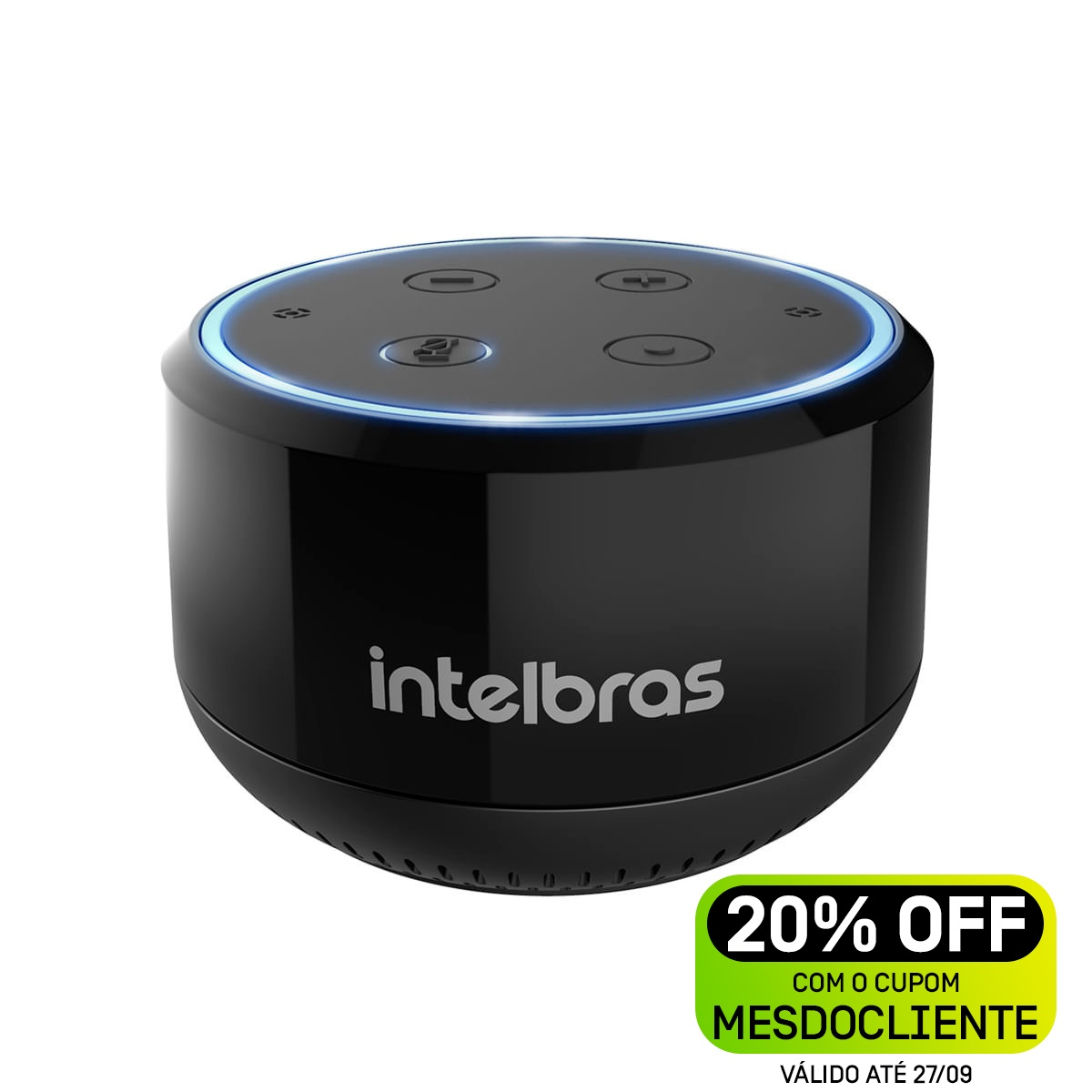 Smart Speaker Intelbras - IZY Speak! mini