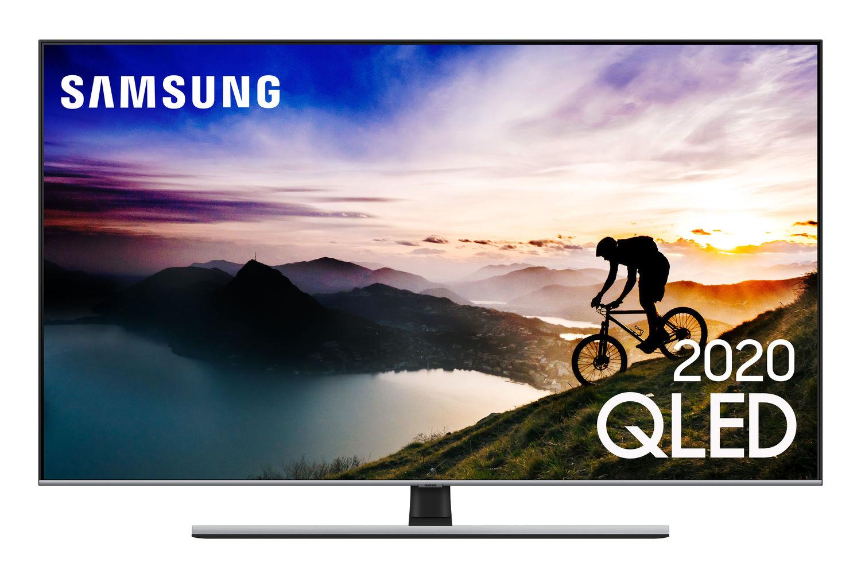 Samsung Smart TV QLED 4K Q70T, Pontos Quânticos, HDR, Bordas Infinitas, Alexa built in, Modo Ambiente 3.0, Controle Único, Visual Livre de Cabos