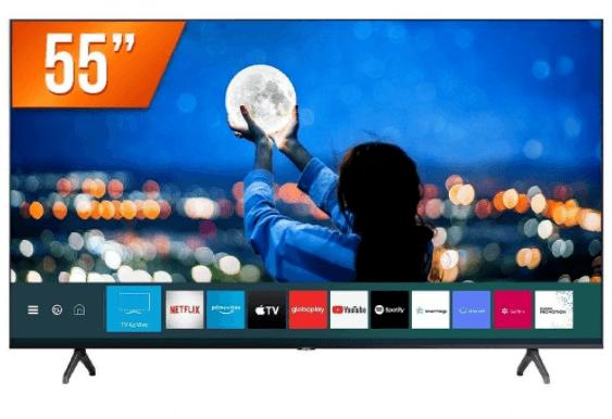 "Smart TV LED 55"" Samsung LH55BETHVGGXZD Ultra HD 4K 2HDMI 1USB Wifi"