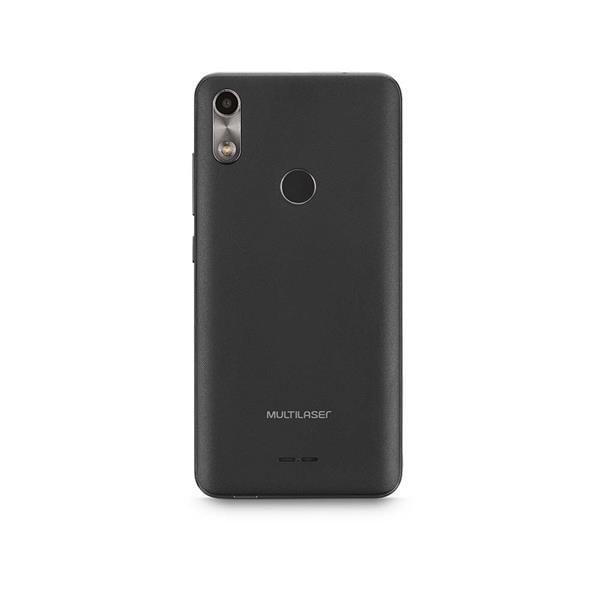 Smartphone Multilaser F 3G 32GB 1GB Tela 5.5 Sensor de Digitais Câmera traseira 5MP + 5MP frontal Café - P9130