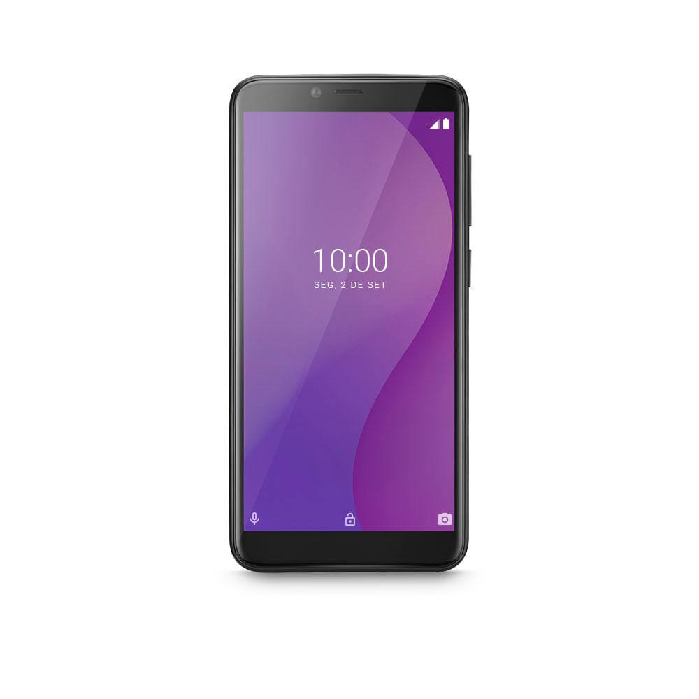 Smartphone Multilaser G 4G 32GB Tela 5.5 Processador Octa Core Sensor de Digitais Android 9.0 GO Preto -  P9132X [outlet]