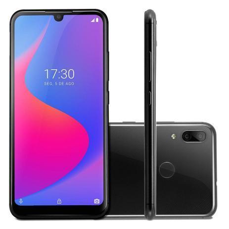 Smartphone Multilaser G Pro 32GB 4G 2GB RAM Tela 6,1 Pol IPS Câm. Dupla 13MP+2MP Preto - P9097