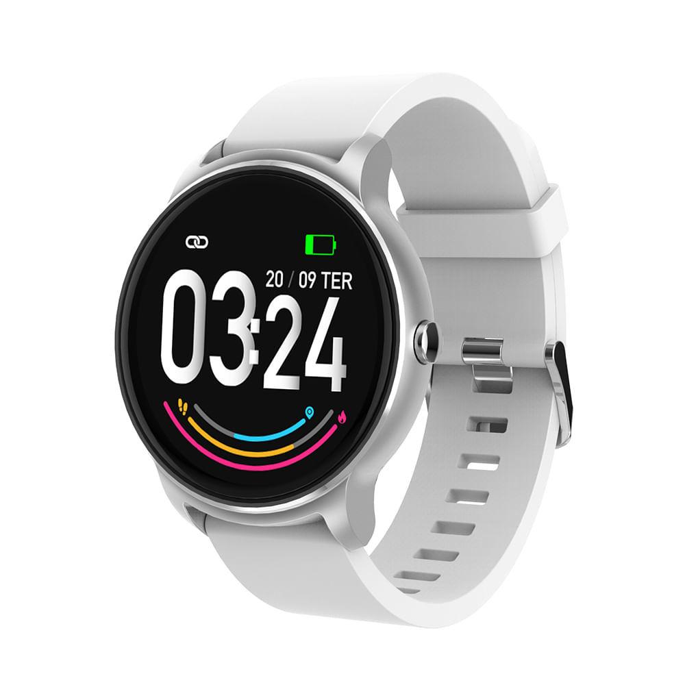 Relógio Smartwach Viena Prata Android/iOS - ES385