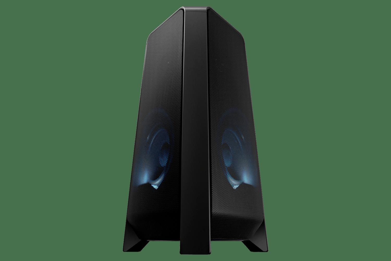 Sound Tower Samsung MX-T55, com potência de 500W e som bi-direcional