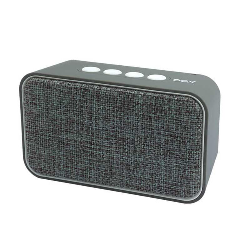Speaker Weave OEX 10W Bluetooth Cinza