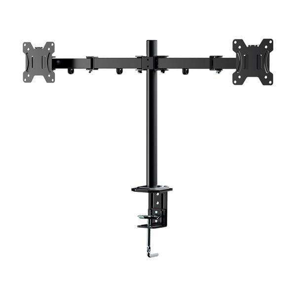 Suporte De Mesa Duplo Articulado Para Monitores De 10 A 27 Polegadas Com Ajuste De Altura - AC367