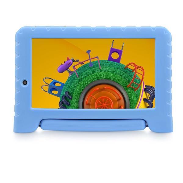 Tablet Multilaser Discovery Kids 16GB Tela 7 Pol. Wi-fi Dual Câmera Azul - NB309X [outlet]