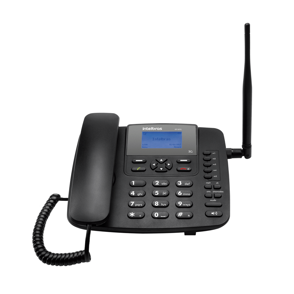 Telefone Celular Fixo Intelbras CF 6031