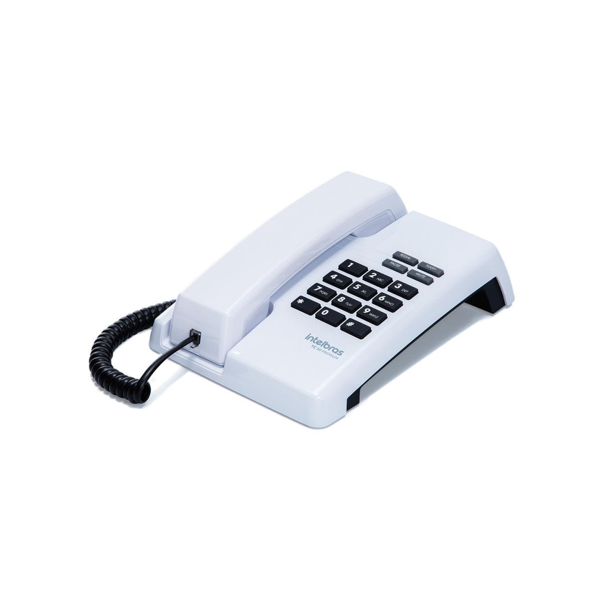 Telefone com Fio Intelbras TC 50 Branco
