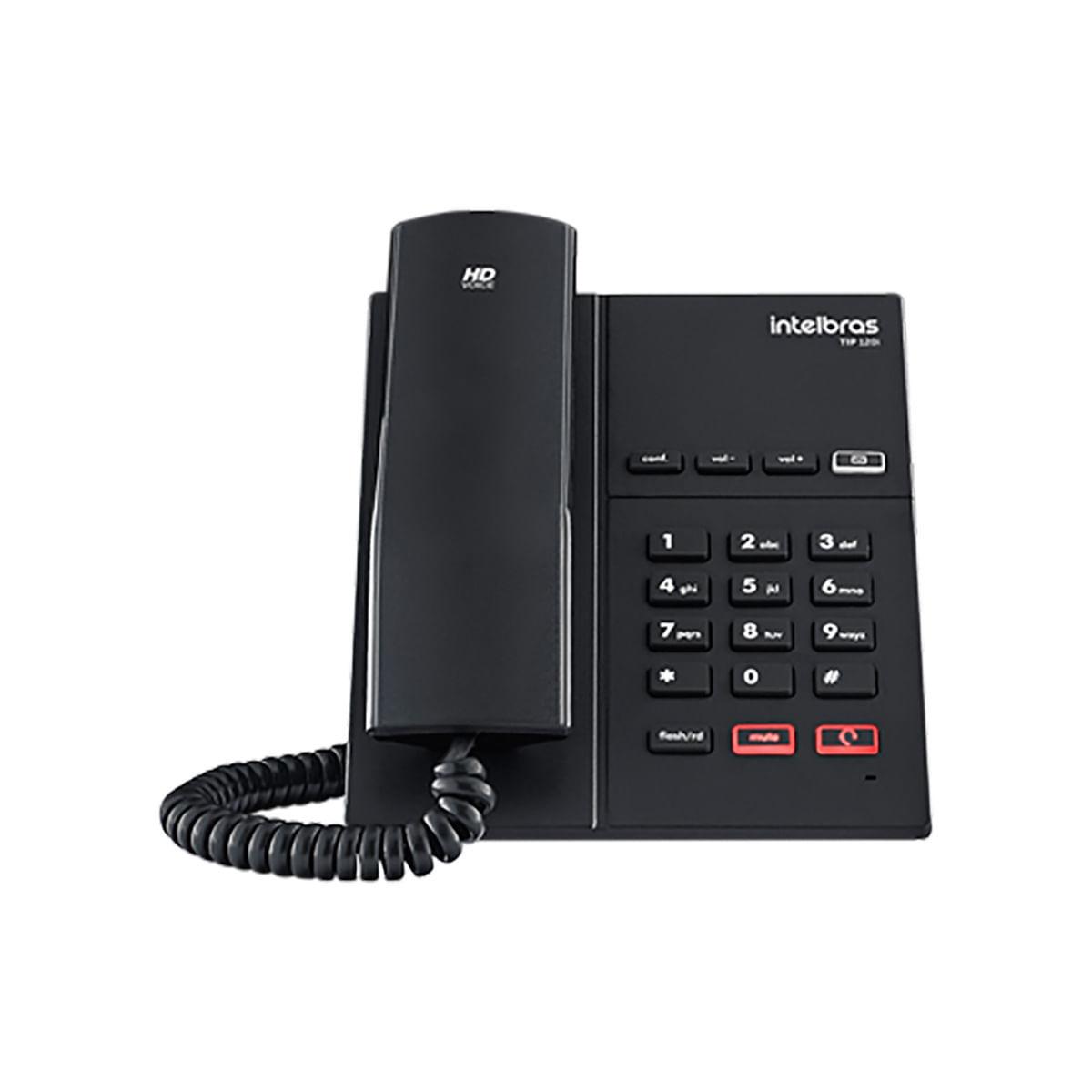 Telefone IP Intelbras  TIP 120i c/ Embalagem colorida