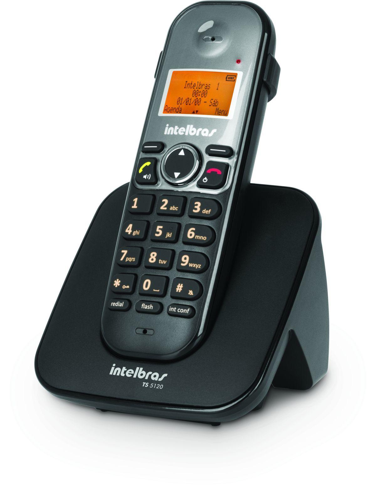 Telefone sem Fio Intelbras TS 5120