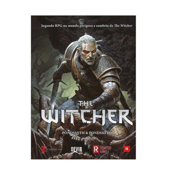 The Witcher - RPG - Capa Dura  Edição de Luxo - Devir