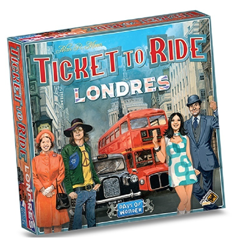 Ticket to Ride Londres - Galápagos