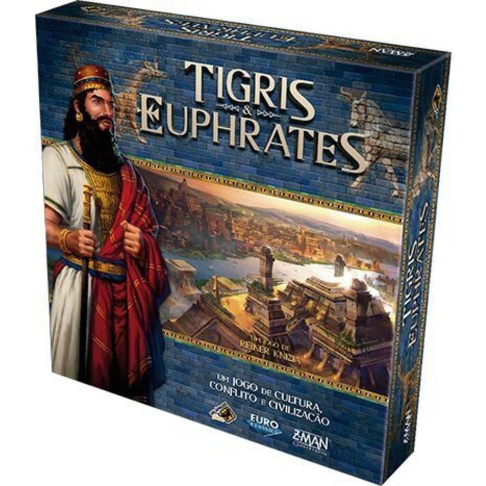 Tigris Euphrates - Jogo de Tabuleiro - Galápagos