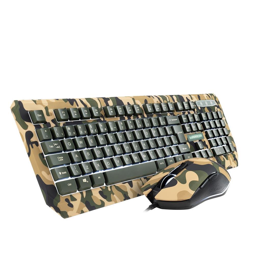 Teclado e Mouse Gamer Army Kyler Warrior - TC249