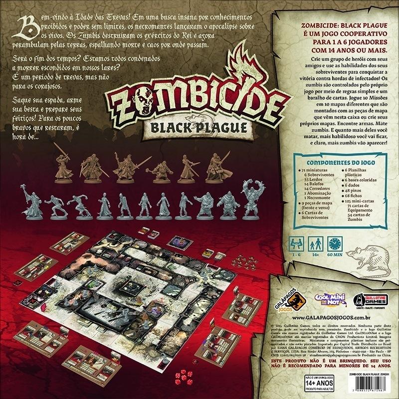 Zombicide Black Plague - Galápagos