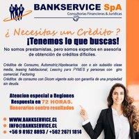 Asesorías Crediticias Consumos, Hipotecarios,