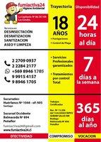 FUMIGACIONES EN BUIN/FONO 227090937-FUMIACTIVA24