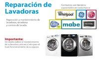 Servicio técnico de lavadoras y secadoras