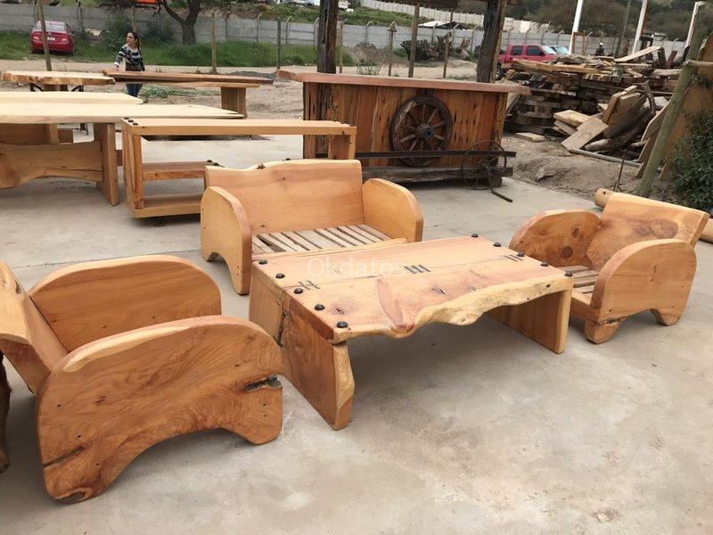 Muebles rusticos en maderas nativas puente alto avisos for Amazon muebles terraza