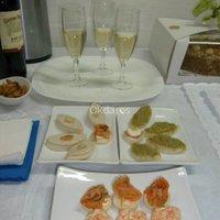 banquetes canape a domicilio brochetas empanaditas