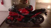 Vendo mi moto Honda CBR 250 color rojo año 2017