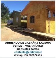 Cabaña Laguna Verde Valparaiso $ 25.000