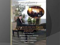 Curso- diplomado, de dirección Orquestal