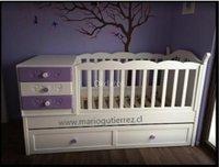 Cuna de bebe en madera, fabricación mueble de bebe