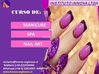 CURSO MANICURE, SPA, NAIL ART